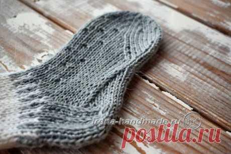 Детские носки с анатомической стопой (вязание, схемы и фото) - Irena Handmade