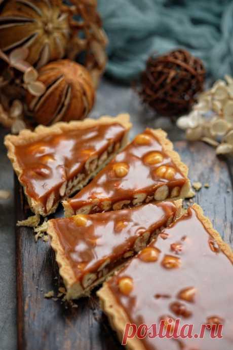 Ореховые тарты с соленой карамелью — Изящество кулинарии