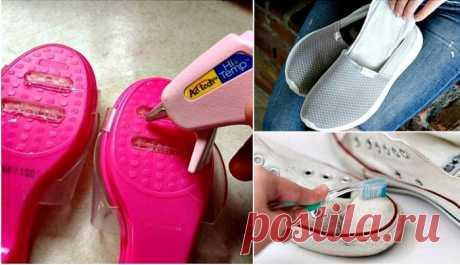 17 полезных хитростей, которые избавят от различного дискомфорта, связанного с обувью