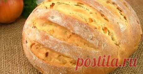 Ароматный луковый хлеб: вкуснее я еще не пробовала