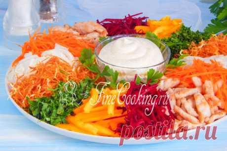 Салат Чафан - рецепт с фото