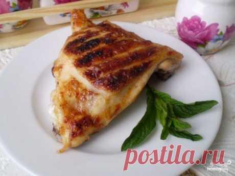 Шашлык из куриных бедер - пошаговый рецепт с фото на Повар.ру