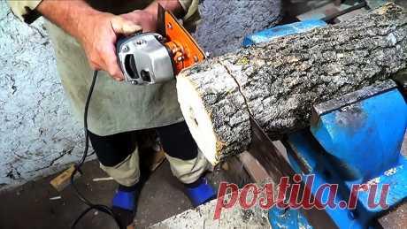 Электроножовка из болгарки своими руками Болгарка отличный инструмент для усовершенствования. Ее конструкция хорошо подходит для подключения различной оснастки, полностью меняющей функционал УШМ. Многие из таких насадок можно сделать своими руками. Примером этого является съемная сабельная пила по дереву, работающая от привода