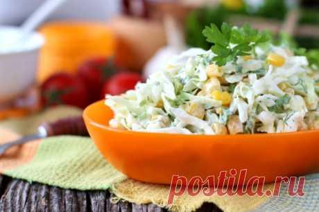 5 вкуснейших салатов для позднего ужина: легкость и удовольствие в одной тарелке 1. Весенний салат с капустой, огурцами и кукурузой на 100 грамм –... Читай дальше на сайте. Жми подробнее ➡