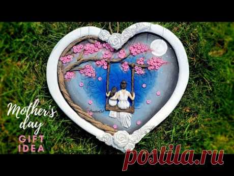 Mothers day 2021/gift for mom/Mothers day gift idea/Art and craft/CreativeCat/Cardboard craft