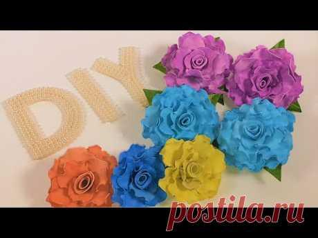 Цветы фом EVA окраска фомо в нужный цвет painting fomo eva in the desired color#Marine_DIY_Guloyan