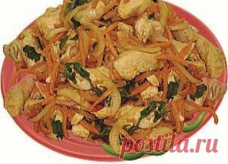 Хе из курицы / Блюда из курицы / TVCook: пошаговые рецепты c фото