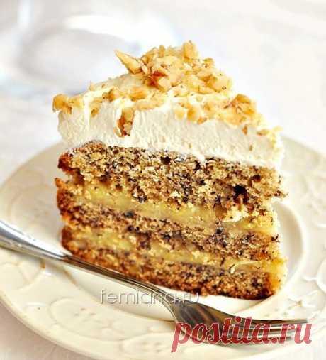 Очень вкусный и простой банановый торт | FEMIANA