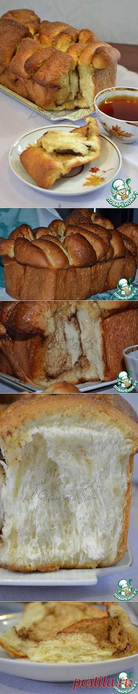 Airy bread with cinnamon - the culinary recipe