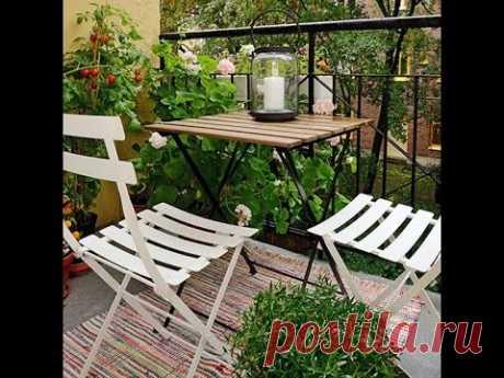 Идеи ремонта для маленького балкона