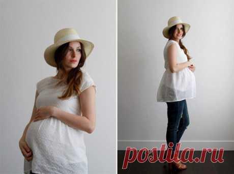Идеи выкроек для беременных (трафик) / Беременным : шьем и перешиваем / ВТОРАЯ УЛИЦА