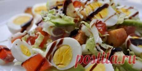 Салат с авокадо и красной рыбой : Салаты : Кулинария : Subscribe.Ru