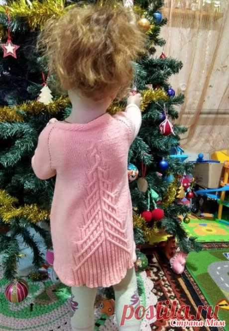Платье для внучки Fairy Tail - Вязание для детей - Страна Мам