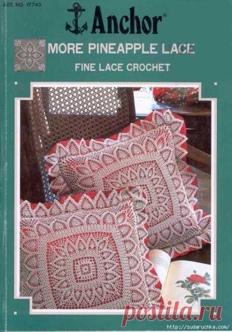 """More Pineapple lace: Fine Lace Crochet"". Журнал по вязанию крючком.."