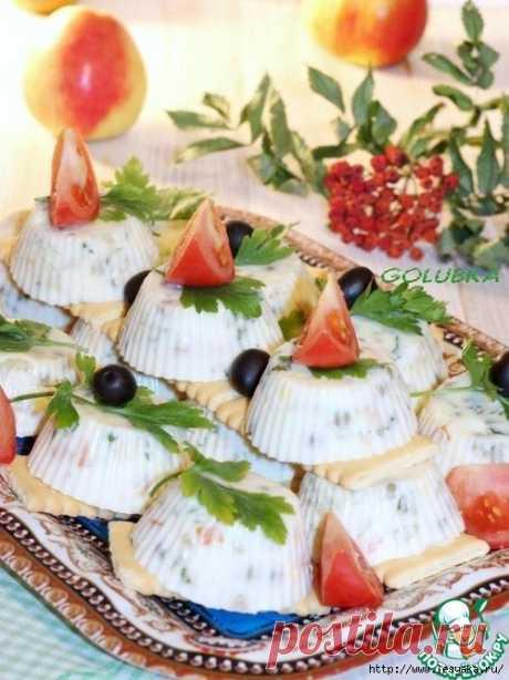 Заливной салат с горбушей для праздничного стола!.