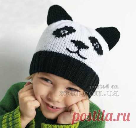 Вязаные детские шапки, шляпки, береты, косынки и шарфы вязаные крючком и спицами.