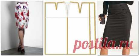 El patrón individual de la falda para Ud. (¡Es simplemente introducido las dimensiones!)