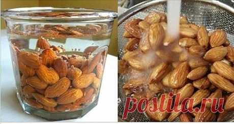 Миндаль — любимый орех для многих людей. Они содержат много питательных веществ, которые нужно потреблять каждый день. Но знаете ли вы, что вы их не правильно ели? Согласно исследованию о миндале, мы должны замочить их