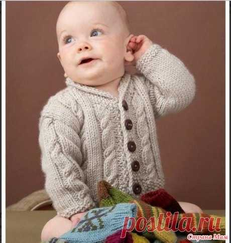 . Детский костюм для мальчика - Вязание - Страна Мам