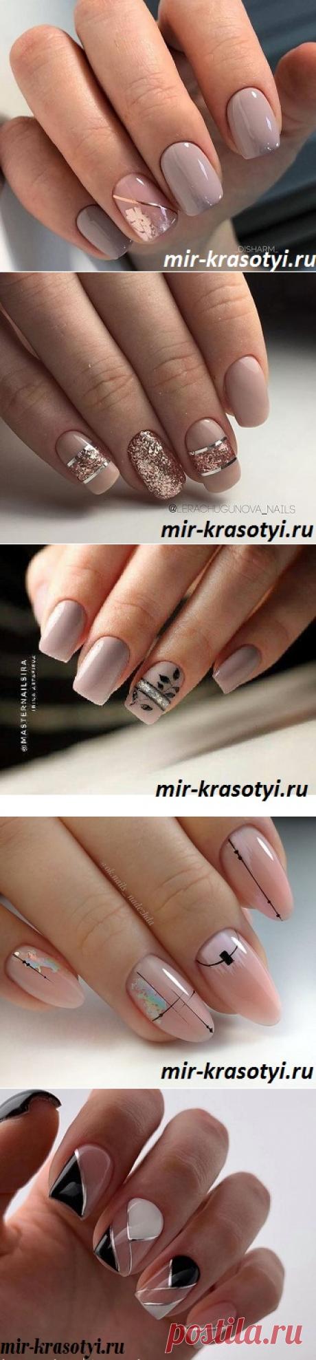 Дизайн ногтей осень зима 2019-2020 фото