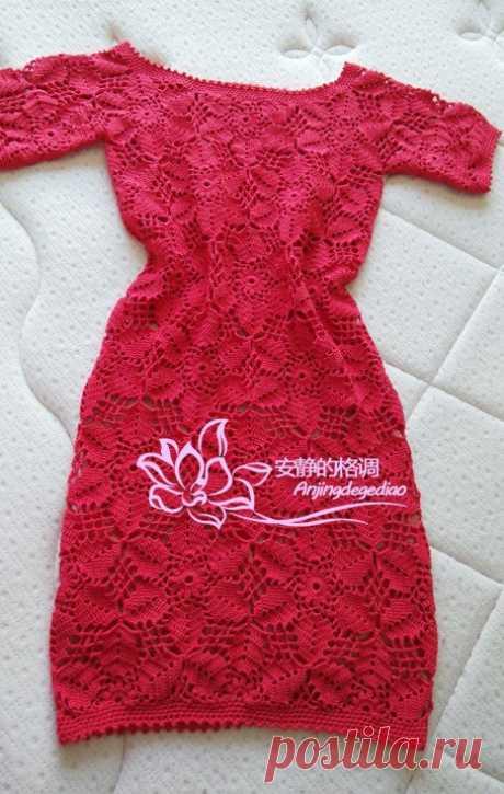 Crochet dress Crochet dress, free pattern