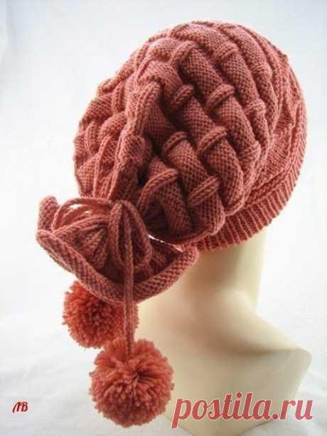 Оригинальная шапка-снуд два в одном: идея