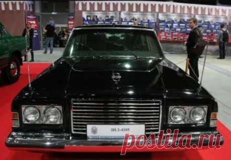 Эксклюзив для советских властей: лимузин ЗИЛ-4105 с повышенной защитой