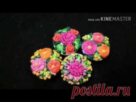 160-Fancy floral buttons (Hindi\/Urdu)
