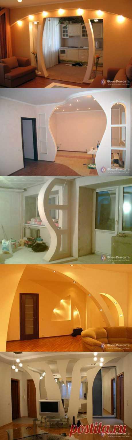 Арки из гипсокартона | Наш уютный дом