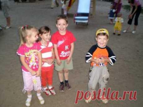 Правила безопасности на детских площадках - Mol4alena