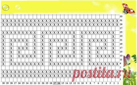 Ленивый жаккард и зеркало. Способы вязания и составление схем узоров   Mария Mоскалёва   Яндекс Дзен