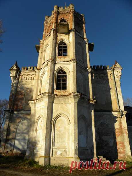 Усадьба Полторацких в селе Авчурино калужской области.