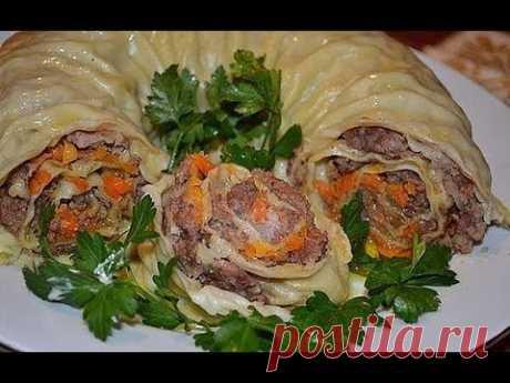 Узбекское блюдо ХАНУМ Такого вы ещё не пробовали