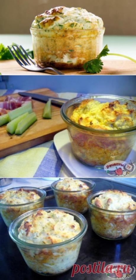Картофельное суфле с зеленью - Первый Женский