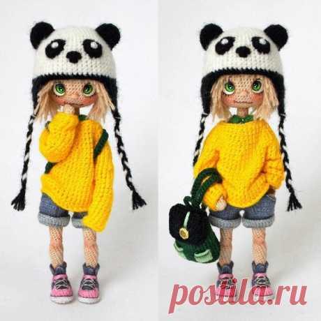 Чудесные вязаные куколки Юлии Барановой
