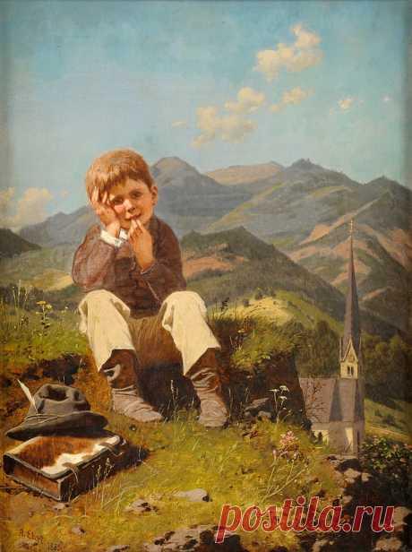 Эберт Антон (Anton Ebert),1845-1896.Австрия.