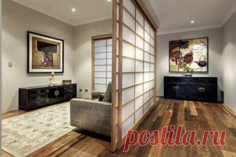 26 светлых гостиных в японском стиле Простота форм и продуманная организации элементов