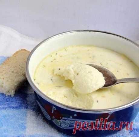 Как приготовить домашний плавленный сыр. - рецепт, ингредиенты и фотографии