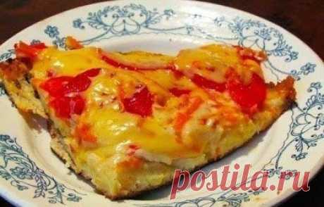 """Пицца """"Минутка"""" - отличное блюдо для холостяков, студентов и лентяев :)"""