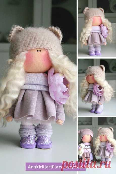 Bambole Baby Doll Handmade Bonita Doll Fabric Puppen Doll | Etsy