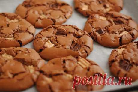 Печенье «Три шоколада» — Женская страничка