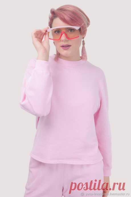 Костюм спортивный повседневный из трикотажа розовый или другой цвет – заказать на Ярмарке Мастеров – LXB4ARU | Костюмы, Москва