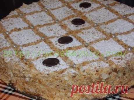 Торт Наполеон из готового слоеного теста | Урожайная дача, интернет журнал, все о даче