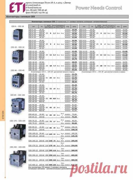 Компания ETI (Словения) расширила ассортимент - контакторы CES мощностью до200 кВт  Купить контакторы CES мощностью до200 кВт по АС3 имеющих высокий механический и электрический ресурс в Днепре - ЧП ЭЛ-КОН. Данные контакторы уже доступны со склада в Днепре.