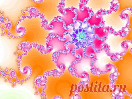 Pink Fractal  Free Stock Photo HD - Public Domain Pictures