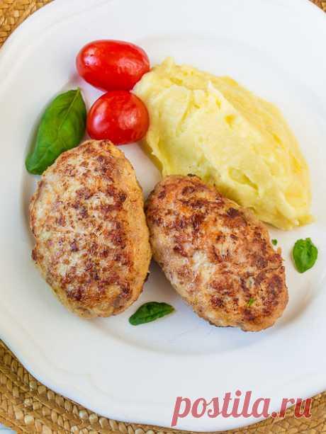 Рецепт куриных котлет с капустой на Вкусном Блоге