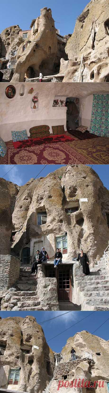(+1) тема - Деревня, вырезанная в скалах. Иран | ТУРИЗМ И ОТДЫХ