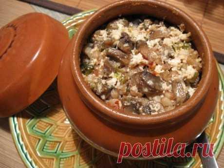 Как приготовить гречка из горшка - рецепт, ингридиенты и фотографии