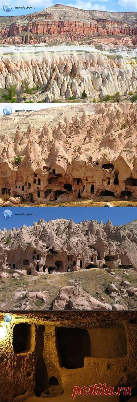 Каппадокия и ее подземный город Деринкую, Турция - Море Фактов
