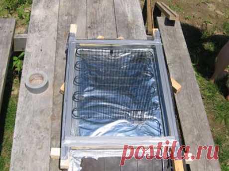 Como hacer el colector solar por las manos. \/ Cамоделки para la casa de campo \/ Самоделка.net - Haz por las manos   los Objetos de fabricación casera. Los consejos útiles y las recomendaciones al artífice de casa